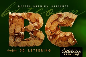 Bitcoin – 3D Lettering