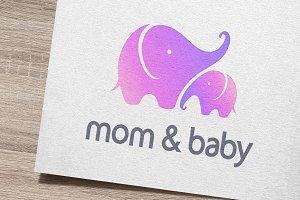 Mom & Baby Logo
