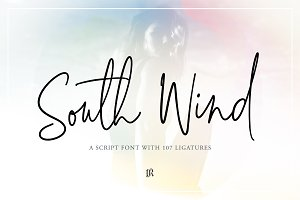 South Wind Font