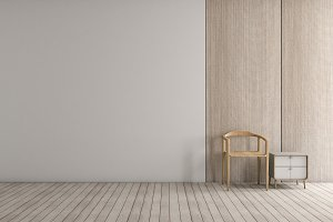 Modern interior living room