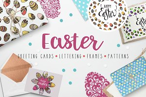 Easter decorations set