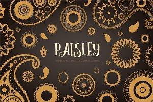 Oriental paisley