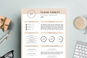 Hipster Resume template | CV design