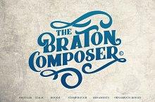 Braton Composer Typeface