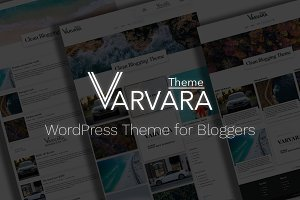 Varvara - Clean WordPress Theme
