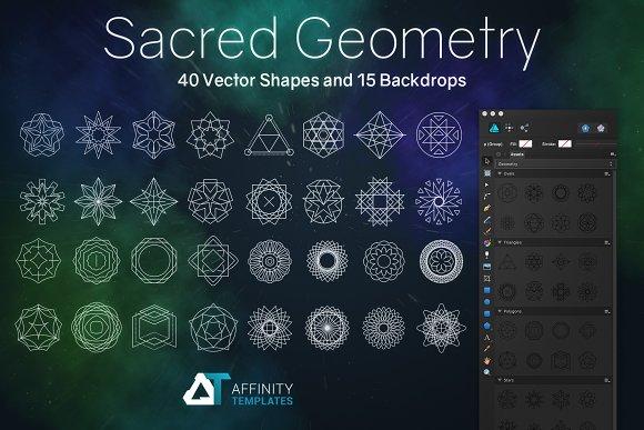Sacred Geometry Shapes Set