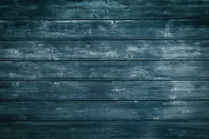 Rustic Wood Background Texture Blue
