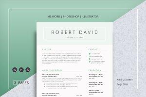 2 Page Resume/CV
