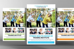 Fitness Training Center Flyer