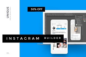 Easy Instagram Builder + Ps Action