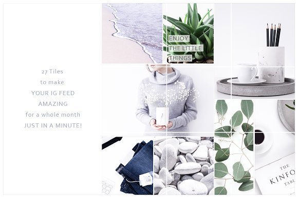 Instagram Tiles Bundle #2