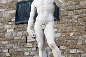 David Statue, Florence, Italy