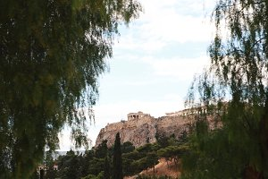 View of the Acropolis.