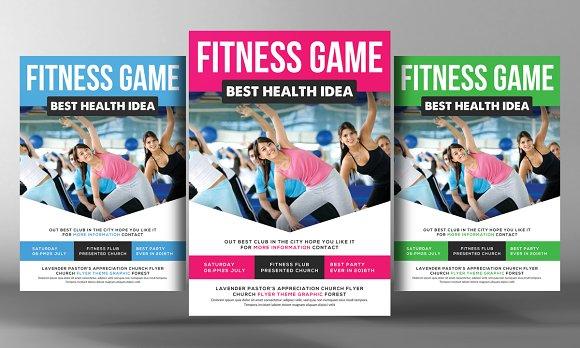 Health Sports Fitness Flyer