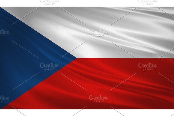 Czech Republic Waving Flag