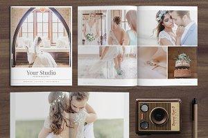 Wedding Magazine Template MG002