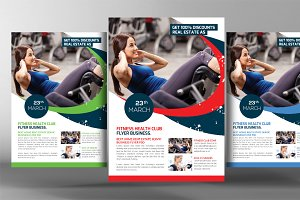 Calisthenics Fitness Gym Flyer