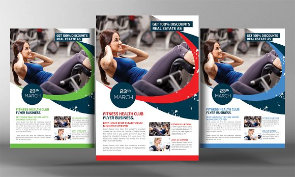 Calisthenics Fitness Gym Flyer