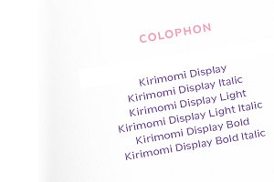 Kirimomi Display
