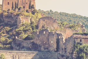 View of Saint Saturnin les Apt
