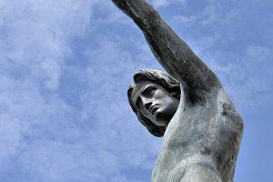 Statue of Genius of Navigation