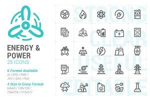 Energy & Power Mini Icon