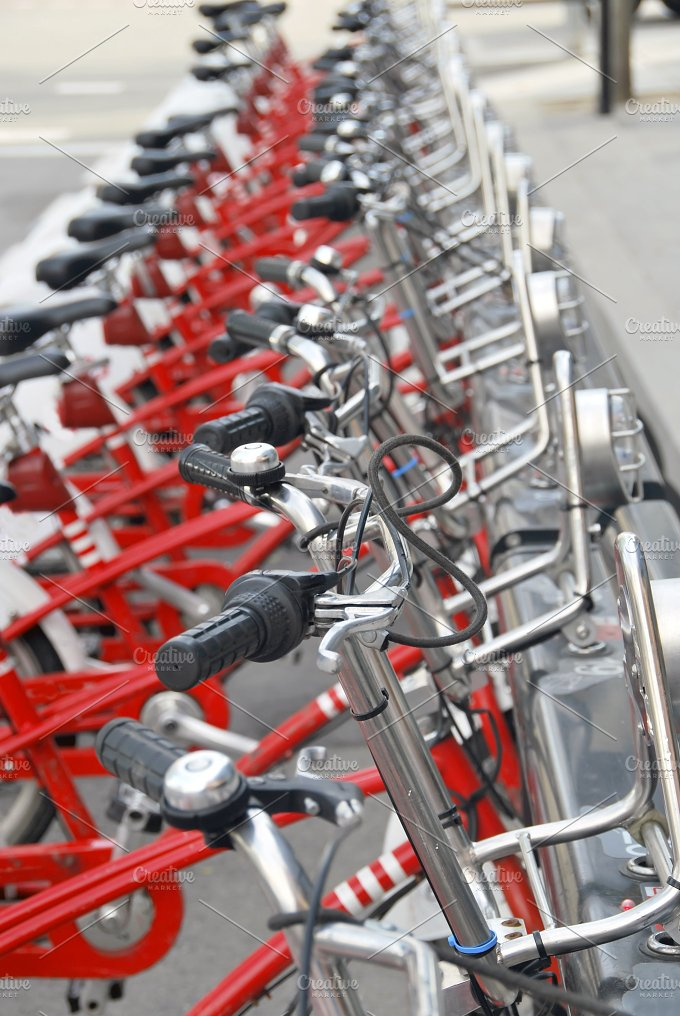 bikes parked.jpg - Transportation