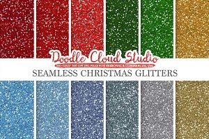 SEAMLESS Christmas Glitter