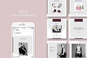 Grete Social Media Pack