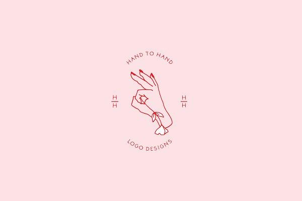Hand to Hand Logo Templates