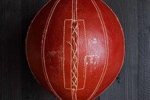 Vintage brown ball