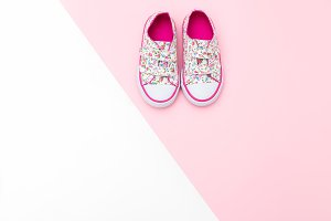 Sneakers for baby girl