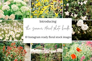 10 Floral Stock Photos for Instagram