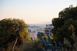 Athens cityscape.