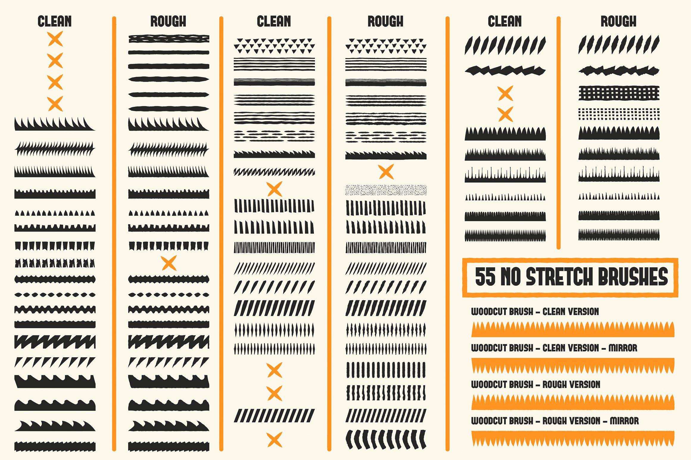 promo5 woodcut brushes 6
