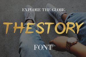 The Story Font - 50% Off