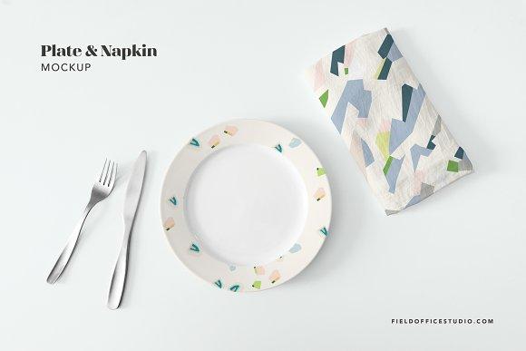 Ceramic Plate Mockup