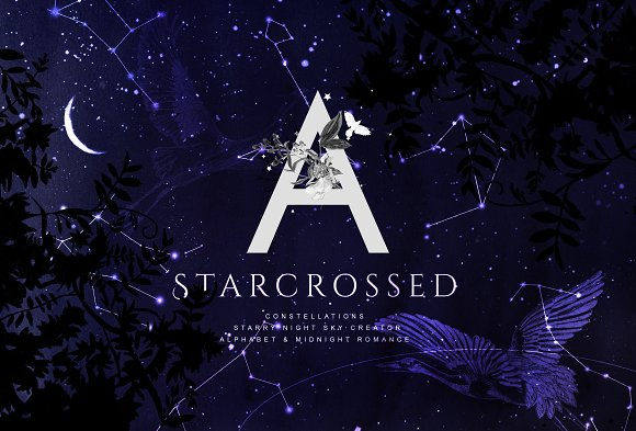 Starcrossed Starry Design Set
