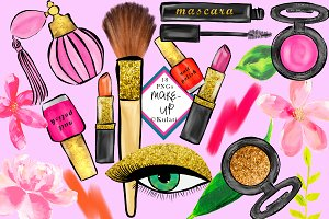 Makeup Clipart / Graphics