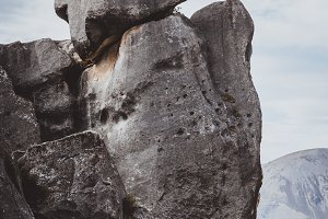 Abstract Rock Formations