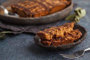 Vanilla vegan aquafaba cake