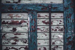 Details of old Wooden Door
