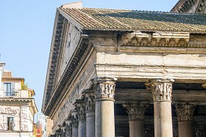 Roman Pantheon Detail