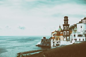 Italy Campagnia region, Amalfi Coast