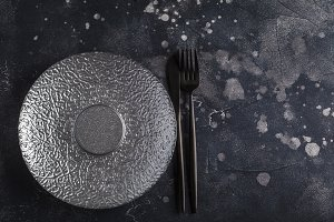 Empty plate background