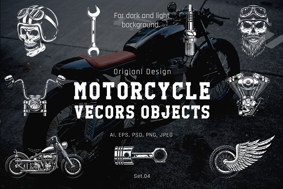 Motorcycle Object Set