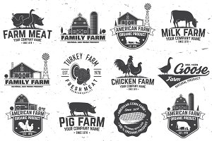 Farm Badges or Labels