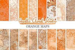 Orange Maps digital paper