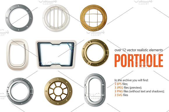 Porthole Realistic Set