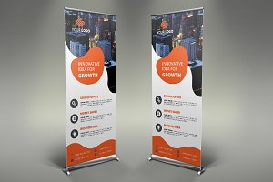 Business Roll Up Banner #079